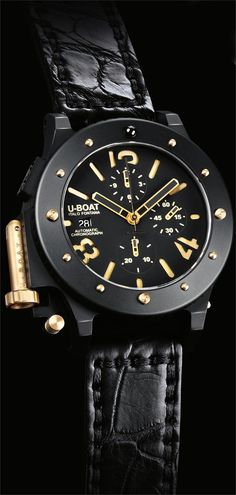 U-Boat U-42 Chrono Gold 6473