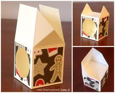 stampin-up-mini-nutella-strohhalmbox11 Mini, Stampin Up, Container, Templates, Giveaway, Cookie, Scrapbooking, Decorated Gift Bags, Gift Boxes