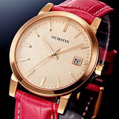 US $67.98 - Lady Direct Selling Quartz Ladies Wristwatch Ochstin Brand Luxury Waterproof Leather Watch Women Dress Watches Reloj Mujer 2016