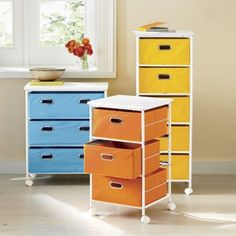 Rolling File Cabinet | Metal rolling cabinet has a metal frame; laminated, composite wood top; four casters (two lock). www.countrydoor.com