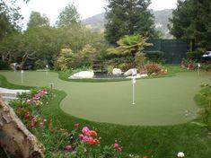 Get Creative with a Custom Backyard Putting Green!