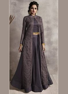 Buy Skirt Set Indowestern Sets & Suits | Online Skirt Set Indowestern Sets & Suits | Indian Skirt Set Indowestern Sets & Suits Gown Party Wear, Party Wear Indian Dresses, Designer Party Wear Dresses, Indian Gowns Dresses, Kurti Designs Party Wear, Dress Indian Style, Indian Fashion Dresses, Indian Designer Outfits, Indian Outfits