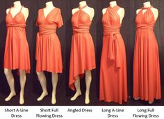 SAMPLE DRESS -- Angled or Butterfly hem Free-Style Dress -- convertible dress, skirt. $105.00, via Etsy.