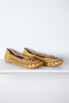 Brasilia Cutout Flats #anthropologie