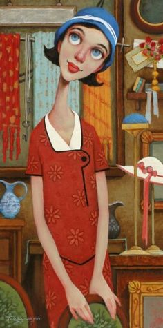 Thrift Store by Fred Calleri