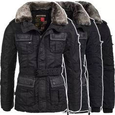 Winterjacke young and rich