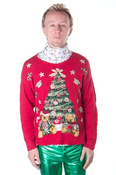 249c2b5d0843 Ugly Christmas Tree Sweater from TheSweaterStore.com