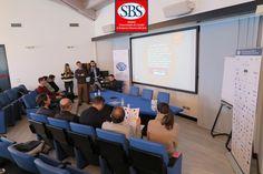 Il gruppo #lnp presenta i risultati del progetto al dott. Coldebella. #mastersbs #laghirada #treviso