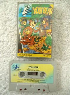24929 Yogi Bear - Sinclair Spectrum 48K (1988)  5015103871049 | eBay
