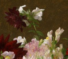 Detail from Flowers, Victoria Dubourg