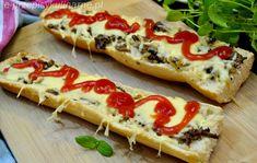 ZAPIEKANKI Z PIECZARKAMI Hot Dog Buns, Hot Dogs, Appetizers, Bread, Ethnic Recipes, Food, Polish, Party, Peasant Bread