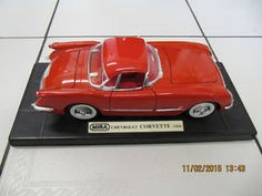 Classic Mira 1954 Chevrolet Corvette 1/18th scale.  Sturdy Die Cast Construction.  Only $45.