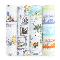 Disney Baby Classic Swaddles - Winnie the Pooh - Accessories