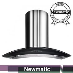 Built-In Kitchen Appliances ; ovens, hobs, microwave, dishwasher, kitchen extractor and many more from Newmatic. Kitchen Hood Design, Kitchen Hoods, Modern Kitchen Cabinets, Buy Kitchen, Kitchen Cabinet Design, Modern Kitchen Design, Kitchen Appliances, Kitchens, Island Extractor Hoods