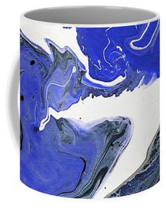 Jenny Rainbow Fine Art Photography Coffee Mug featuring the photograph The Rivers Of Babylon Fragment Abstract Fluid Acrylic Painting by Jenny Rainbow Fragment 1, Rainbow Coffee, Mugs For Sale, Fluid Acrylics, Rivers, Fine Art Photography, Coffee Mugs, Abstract, Artwork