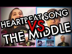 """Kelly Clarkson - """"Heartbeat Song"""" VS Jimmy Eat World - """"The Middle"""" MASHUP!! (Cover) - YouTube"""
