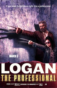 """johnny-dynamo:  """"Logan: The Professional by Marco D'Alfonso  """""""