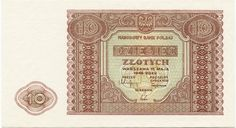 10 Zlotych 1946