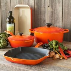 Le Creuset® Flame 6-Piece Classic Cookware Set