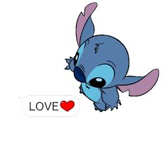 I LOVE STITCH MORE THAN EVERYTHING