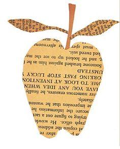 apple paste collage