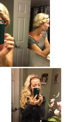 I'm repinning this for you girls: I did this last night and it turned out AMAZING!!!! No heat headband curls!
