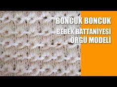 BONCUK BONCUK Bebek Battaniyesi Örgü Modeli - YouTube