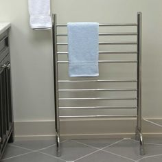 Contemporary standing towel rack : Install a Standing Towel Rack ...