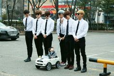 Who is this special baby JJCC is bodyguarding? | allkpop.com