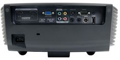Optoma HD91+ LED Projector - Rear View