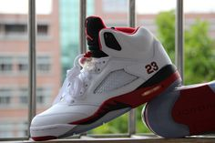 Air Jordan 5 Retro Fire Red, 136027-120