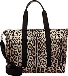 9eb4eaeb333 Dolce & Gabbana Leopard-Print Diaper Bag - Bags & Strollers - 504032963 Baby  Registry