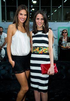 Alessandra ambrosio y Kelly Talamas