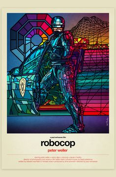80s Movies As Stained Glass Windows - Design - ShortList Magazine
