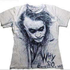 Batman Joker Dc Comics Superhero Print T-Shirt Women Men Summer T Shirt Homme Harley Quinn Carnage Joker Tees Outfits 14 Asia 3d T Shirts, Casual T Shirts, Cool T Shirts, T Shirts For Women, Joker T Shirt, Batman T Shirt, Shirt Men, Cool Hoodies, Summer Fashion Outfits