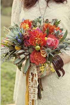Hippie Chic! Fashion Tips for the Bohemian Bride - The Celebration Society