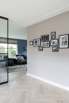 Taupe Living Room, Living Room Paint, Home Living Room, Living Room Decor, Interior Design Living Room, Living Room Designs, Black And White Dining Room, Taupe Walls, Happy New Home