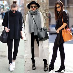 Ways to style bucket bags! @fashioninmysoul - @blaireadiebee - @fakeleather by streetstyleinspirations
