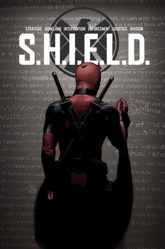 S.H.I.E.L.D. #1 variant cover - Deadpool by John Tyler Christopher *