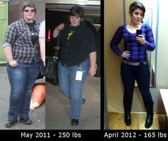 250 to 165...Feel what it will be like to more than 38.5 lbs in 1 month