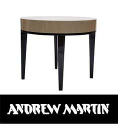 Andrew Martin - Crecy Side Table - Large
