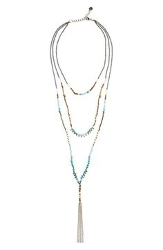 Nakamol Design - Beaded Tiered Necklace C$43.27