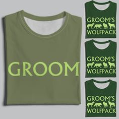 Buy Bachelor Party Wolfpack T-Shirts | Worldwide Shipping