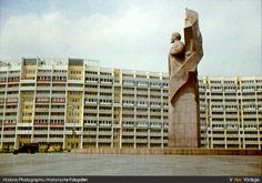 Kollektiv der Deutschen Bauakademie (Leitung Hermann Henselmann), Wohnschlange, Leninplatz, 1968-70