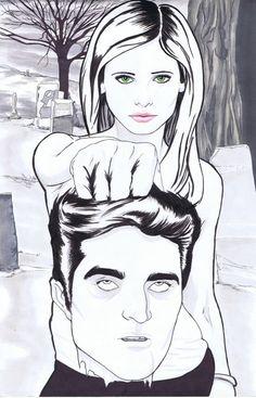 Buffy hates Twilight.  http://www.etsy.com/listing/87763300/buffy-hates-twilight