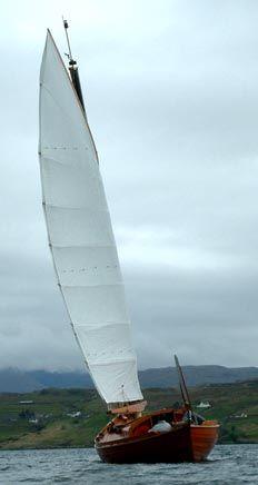 Skye Wing from astern