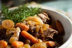 The scent of savory roast, sweet onions, tender baby carrots and earthly potatoes are one of the scents that define my childhood and are the true definition of comfort food for me.