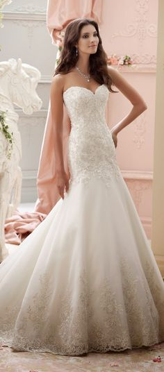 If you are a bride-to-be who is searching for the perfect wedding dress, well then you are in luck, my friend. Like every Tuesday here at Belle, today I'm taking a bridal fashion minute to introduce you to one of the prettiest bridal collections out there, David Tutera for Mon Cheri Spring 2015. Each and read more...