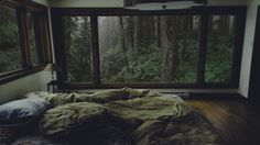 I made changes to make this photo my own personalized cozy :) - Ansichten Interior And Exterior, Interior Design, Forest House, Aesthetic Rooms, Cozy Place, Home And Deco, Dream Rooms, House Rooms, My Room