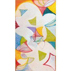 Sylvia Martins - Zenith, oil on linen, 70 x 40 inches, at Mozumbo Contemporary Art. https://mozumbo.com
